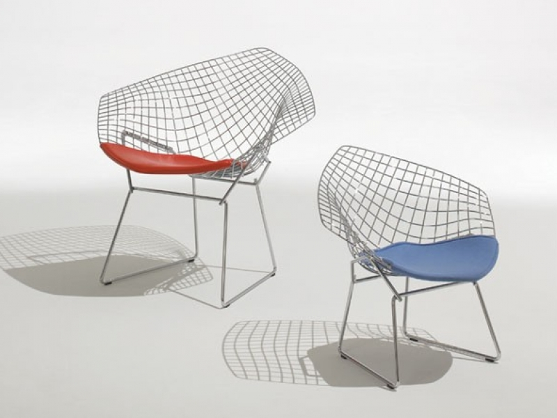 Child´s Diamond Wireframe, design Harry Bertoia para Knoll (Foto Casa Vogue)